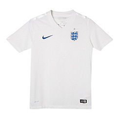 Nike - Boy's white home emblem jersey t-shirt