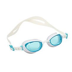 Speedo - White 'Aquapure' goggles