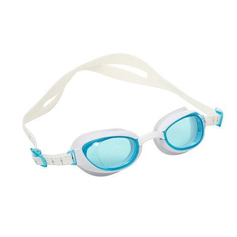Speedo - White +Aquapure+ goggles