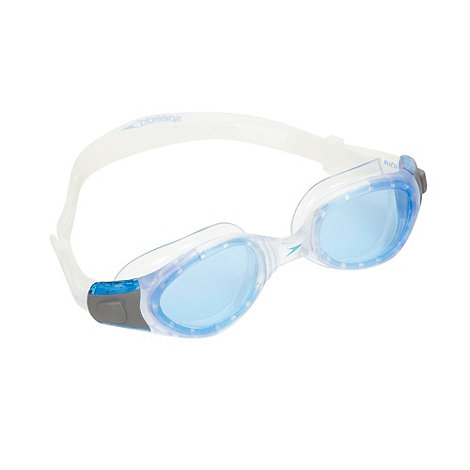 Speedo - Children+s white performance swimming goggles