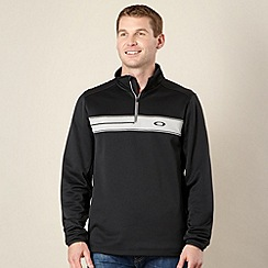 Oakley - Black zipped pullover