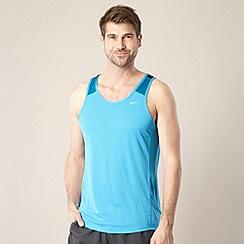 Nike - Blue mesh tank top