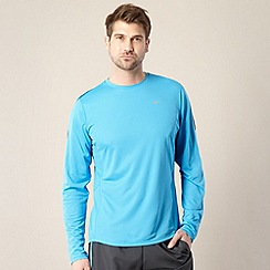 Nike - Blue mesh long sleeved top