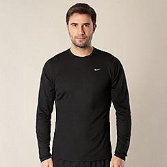 Nike - Black long sleeve running top