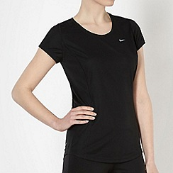 Nike - Women's black racer t-shirt