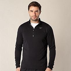 Nike - Black racer half zip pullover