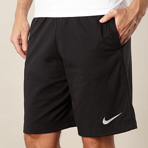 Nike - Black cotton gym shorts