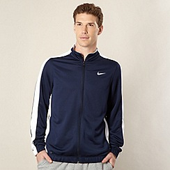 Nike - Navy zip trough basketball jacket