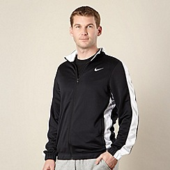 Nike - Black striped sleeve jacket