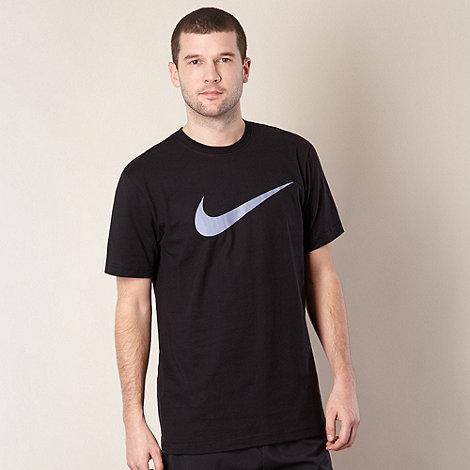 Nike - Black logo print t-shirt