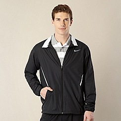 Nike - Black woven mesh jacket