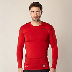 Nike - Red long sleeved compression top