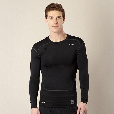 Nike - Black long sleeved compression top