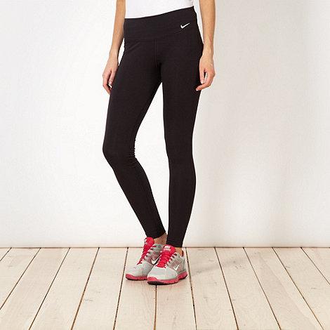 Nike - Black +Legend+ tight fitness trousers