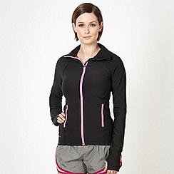 Nike - Black 'Legend 2.0' zip through jacket