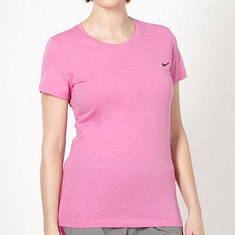 Nike - Pink crew neck t-shirt