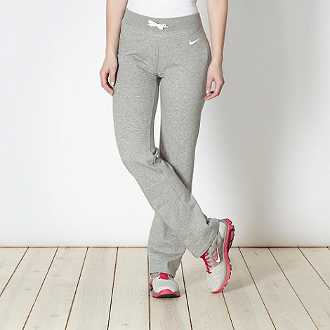 Nike - Grey sweat jogging bottoms