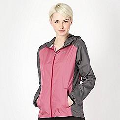 Nike - Pink woven 'Racer' jacket