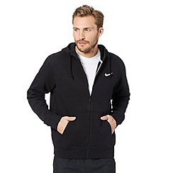 Nike - Black zip through hoodie