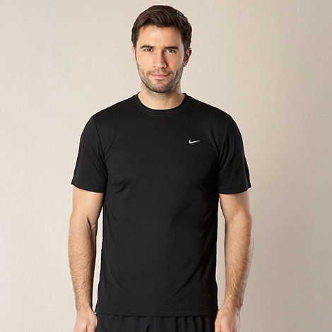 Nike - Black short sleeve running top