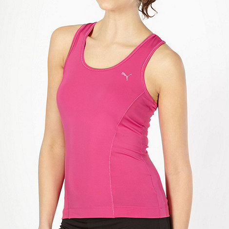 Puma - Dark pink racer back tank top