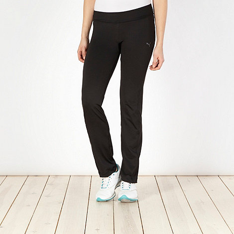 Puma - Black slim fitness pants