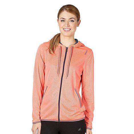 Reebok - Coral mesh zip hooded jacket