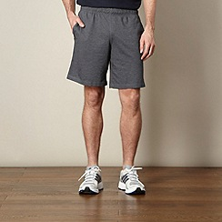 Reebok - Dark grey 'elements' jersey shorts