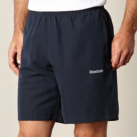 Reebok - Navy elements sports shorts