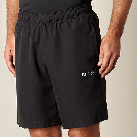 Reebok - Black elements sports shorts