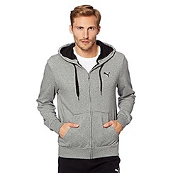 Puma - Grey zip through sweat hoodie