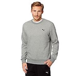 Puma - Grey crew neck sweat top