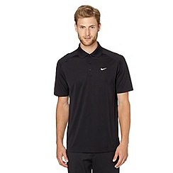 Nike - Black 'Victory' golf polo shirt