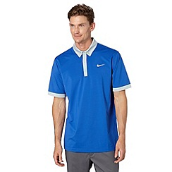 Nike - Blue 'Dri-FIT' polo shirt