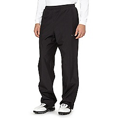 Nike - Black 'Storm-FIT' packable trousers