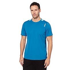 Reebok - Blue mesh back running t-shirt