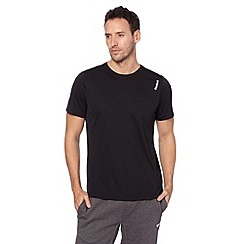 Reebok - Black mesh back running t-shirt