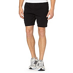 Reebok - Black 'PlayDry' running shorts