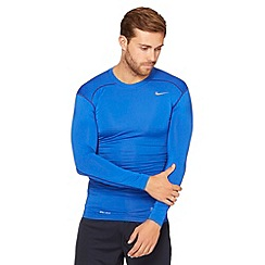 Nike - Blue 'core' compression top