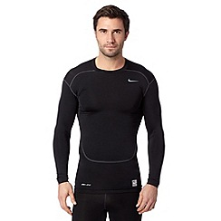 Nike - Black compression base layer gym top
