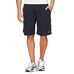 Nike - Navy stretch jersey shorts