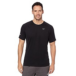 Nike - Black 'Miler' running t-shirt