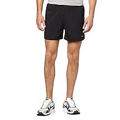 Nike - Black elasticated waist running shorts