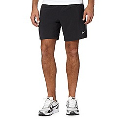 Nike - Black 'Pursuit' 2-in-1 shorts
