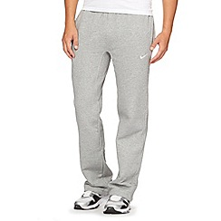 Nike - Grey 'Club' jogging bottoms