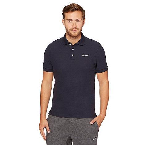 Nike - Navy +Matchup+ pique polo shirt