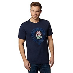 Canterbury - Navy England team rugby t-shirt