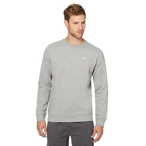 Nike - Grey brushed inner sweater