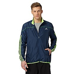 adidas - Dark blue 'Response' running jacket