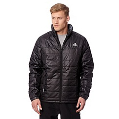 adidas - Black padded funnel neck jacket